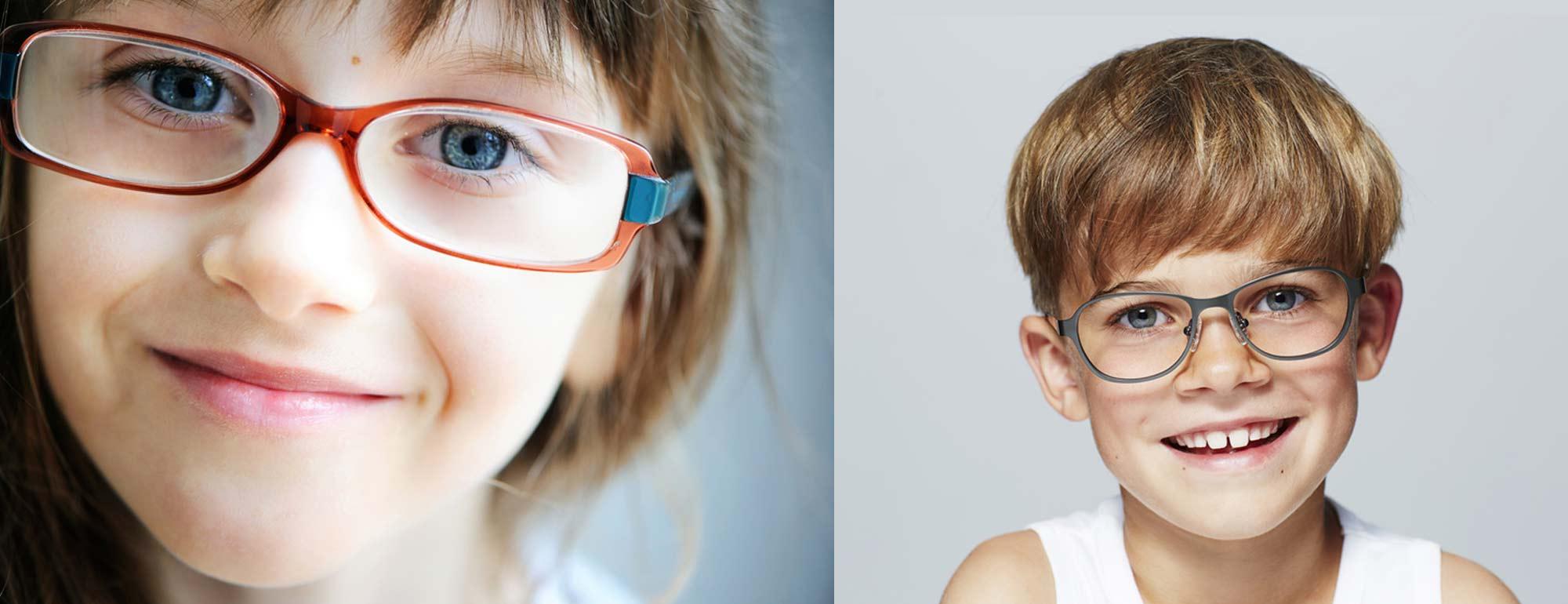 Les lunettes pour enfants et adolescents